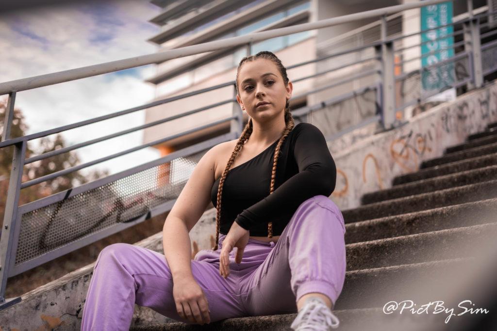 portrait jeune femme à Angers