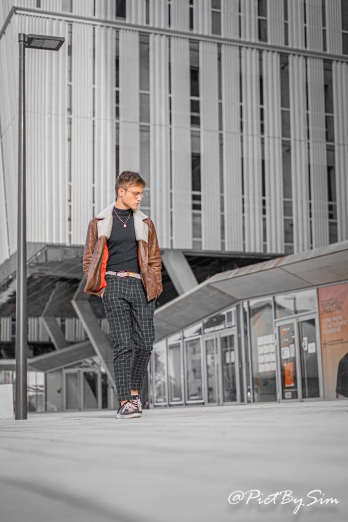Photo d'Hugo à la gare d'Angers