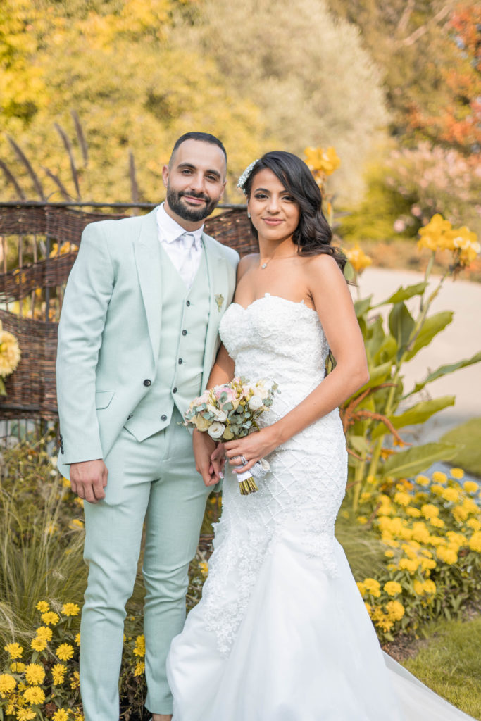 Photo de mariés à Angers