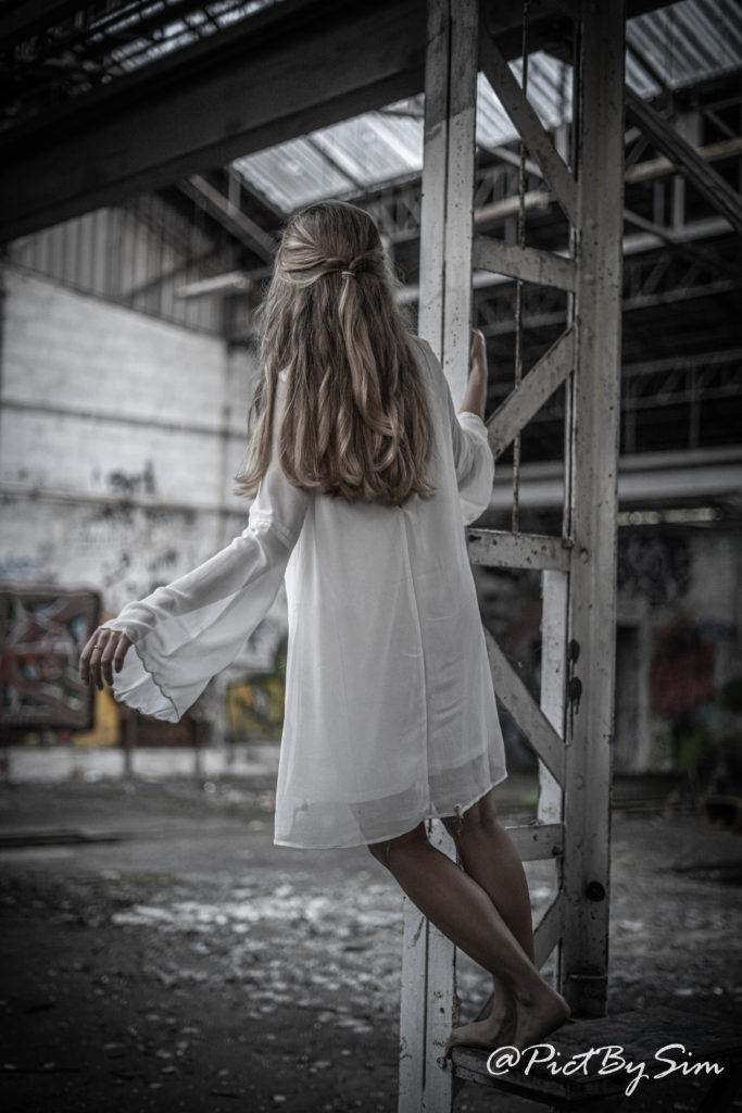 Lieu urbain abandonné