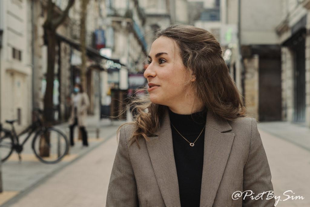 Portrait de Diane à Angers