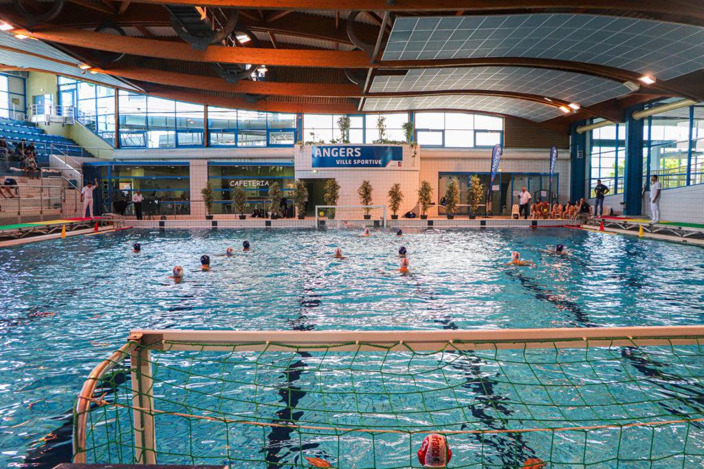 Match de water polo à Angers