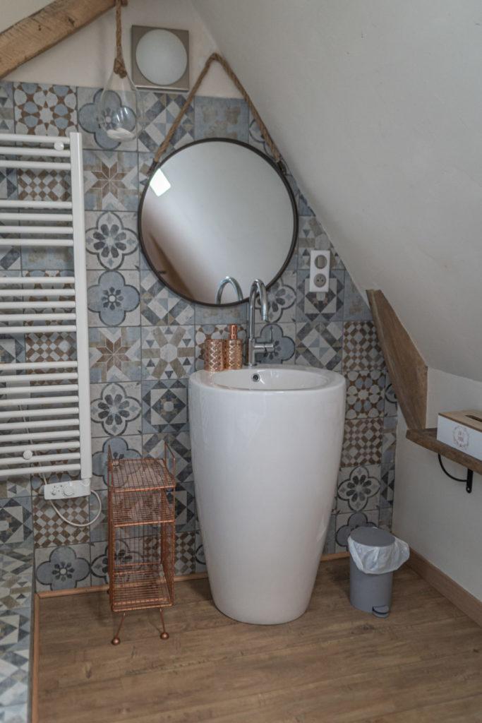 Photo d'une salle de bain